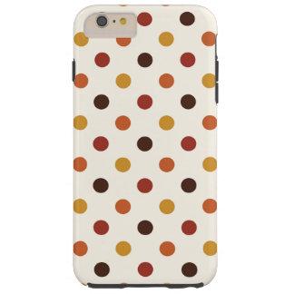 Coque Tough iPhone 6 Plus Automne rustique d'automne de Thanksgiving coloré