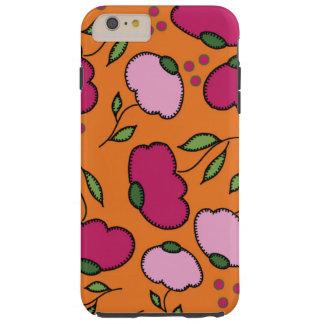 Coque Tough iPhone 6 Plus Caisse piquée d'Iphone 6plus de marguerite