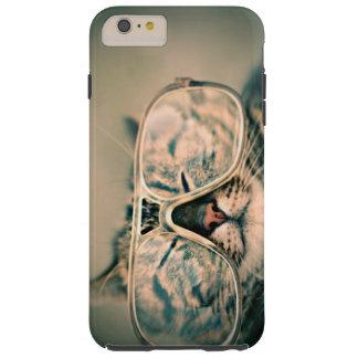 Coque Tough iPhone 6 Plus Chat drôle avec des verres