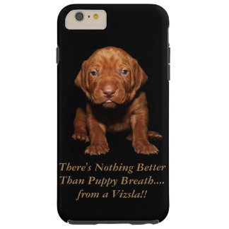 Coque Tough iPhone 6 Plus Couverture d'iPhone de chiot de Vizsla