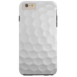 Coque Tough iPhone 6 Plus Image fraîche du motif blanc de fossettes de boule