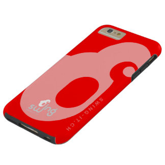 Coque Tough iPhone 6 Plus iPhone 6 Swing-it Red Case