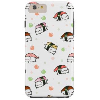 Coque Tough iPhone 6 Plus Kawaii Neko Nigiri