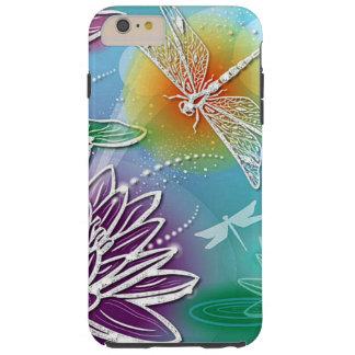 Coque Tough iPhone 6 Plus Le joli été de mouche mignonne de dragon colore