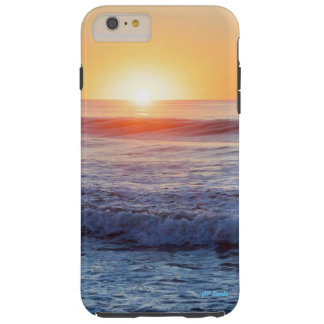 Coque Tough iPhone 6 Plus Lever de soleil de rivage du Jersey