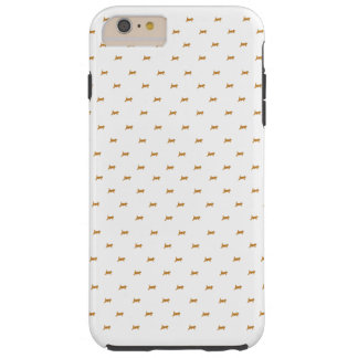 Coque Tough iPhone 6 Plus Marche de chatons de gingembre