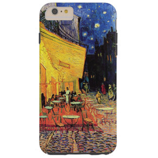 Coque Tough iPhone 6 Plus Terrasse de café de Van Gogh sur Place du Forum,