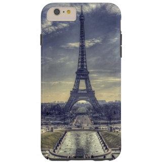 Coque Tough iPhone 6 Plus Tour Eiffel vintage élégant chic Paris France