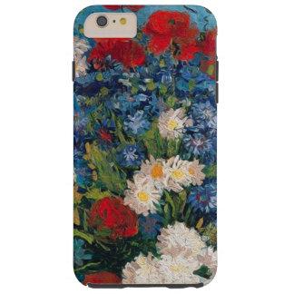 Coque Tough iPhone 6 Plus Van Gogh et Elizabeth fleurit - la caisse plus de
