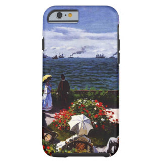 Coque Tough iPhone 6 Terrasse de Claude Monet-The chez Sainte-Adresse