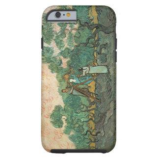 Coque Tough iPhone 6 Vincent van Gogh | les récolteuses olives,