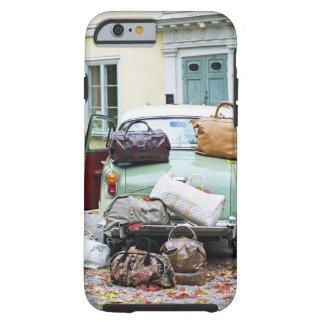 Coque Tough iPhone 6 Voiture vintage avec un bon nombre de bagage