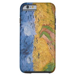 Coque Tough iPhone 6 Wheatfield de Vincent van Gogh | avec des
