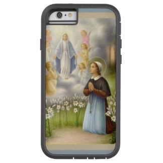 Coque Tough Xtreme iPhone 6 Anges de St Bernadette Lourdes de Vierge Marie
