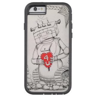 Coque Tough Xtreme iPhone 6 Cas de téléphone de fille de robot