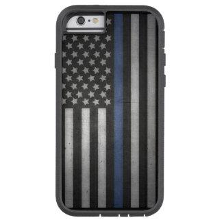 Coque Tough Xtreme iPhone 6 cas mince de téléphone portable de Blue Line