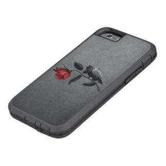 Coque Tough Xtreme iPhone 6 Corneille gothique sur le cas dur de l'iPhone 6 de