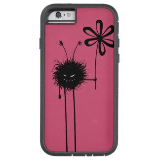 Coque Tough Xtreme iPhone 6 Insecte mauvais rose de fleur protecteur