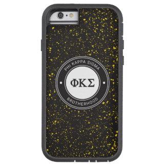 Coque Tough Xtreme iPhone 6 Insigne du sigma   de Kappa de phi