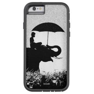 Coque Tough Xtreme iPhone 6 iPhone 6/6s Xtreme dur d'art de pluie d'éléphant