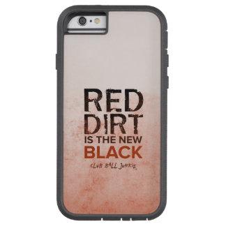 Coque Tough Xtreme iPhone 6 iPhone rouge 6/6s, cas dur de saleté de téléphone