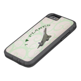 Coque Tough Xtreme iPhone 6 J'aime des avions - Concorde