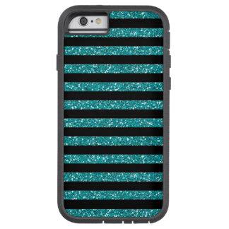 Coque Tough Xtreme iPhone 6 La turquoise barre élégant chic