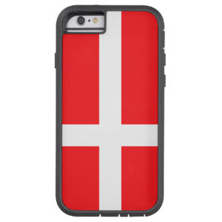 Coque Tough Xtreme iPhone 6 Le Danemark, drapeau