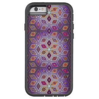 Coque Tough Xtreme iPhone 6 Patchwork vintage avec les éléments floraux de