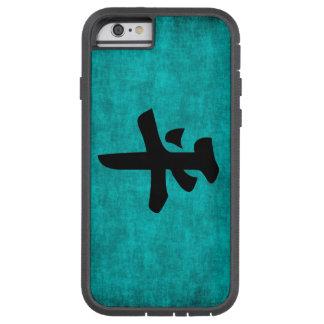 Coque Tough Xtreme iPhone 6 Peinture de caractère chinois pour la paix dans le