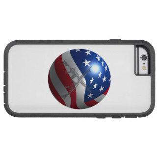 Coque Tough Xtreme iPhone 6 sphère du drapeau 3D
