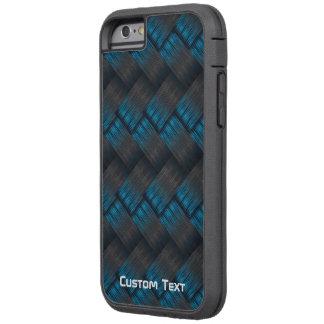 Coque Tough Xtreme iPhone 6 Texture dure faite sur commande d'armure de fibre