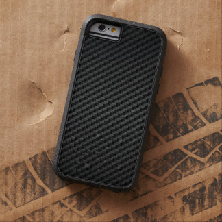 Coque Tough Xtreme iPhone 6 Texture forte de luxe de fibre de carbone