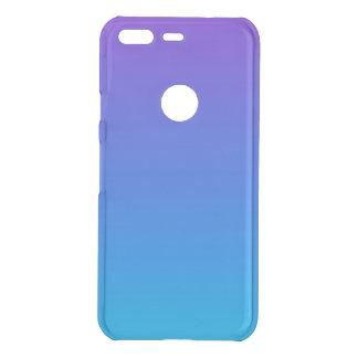 Coque Uncommon Google Pixel Caisse bleue et pourpre de Clearly™ de pixel