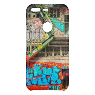 Coque Uncommon Google Pixel Cas de construction abandonné d'art de graffiti