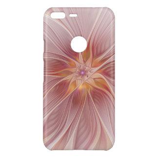 Coque Uncommon Google Pixel XL Fleur moderne d'abrégé sur floral rose mol rêve