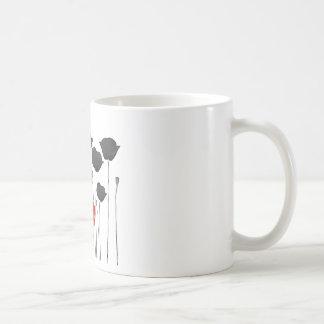coquelicot mug blanc