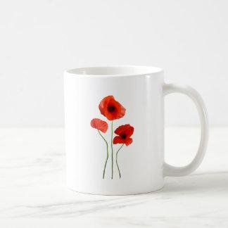 coquelicot -poppy mug