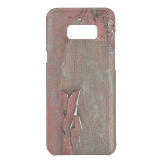 Coquer Get Uncommon Samsung Galaxy S8 Plus Bois rouge vintage de grange
