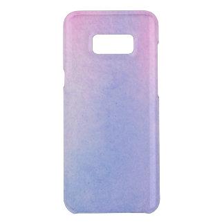 Coquer Get Uncommon Samsung Galaxy S8 Plus Couleur pour aquarelle de marbre rose et bleue