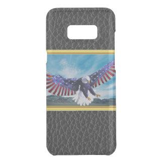 Coquer Get Uncommon Samsung Galaxy S8 Plus Drapeau américain Eagle volant dans la feuille