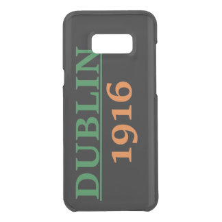 Coquer Get Uncommon Samsung Galaxy S8 Plus Galaxie 1916 de Dublin Samsung S8+ Caisse de