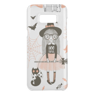Coquer Get Uncommon Samsung Galaxy S8 Plus Les meilleures sorcières Halloween heureux