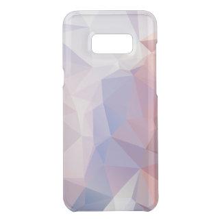 Coquer Get Uncommon Samsung Galaxy S8 Plus Motif rose mou de pyramide d'abrégé sur pourpre