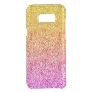 Coquer Get Uncommon Samsung Galaxy S8 Plus Parties scintillantes roses et jaunes modernes 2