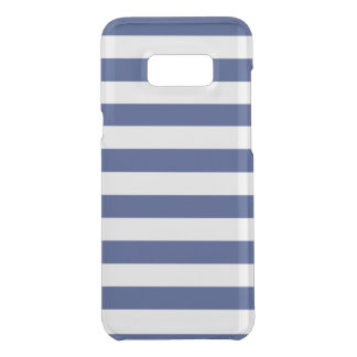 Coquer Get Uncommon Samsung Galaxy S8 Plus Rayures bleues et blanches de point chanceux