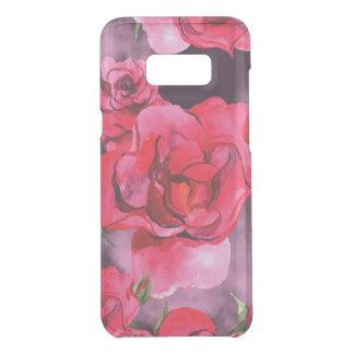 Coquer Get Uncommon Samsung Galaxy S8 Plus Roses d'aquarelle sur le noir