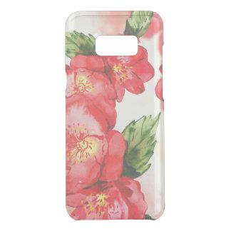 Coquer Get Uncommon Samsung Galaxy S8 Plus Roses mous rouges et roses d'aquarelle
