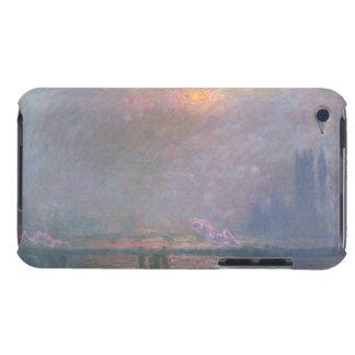 Coques Barely There iPod Claude Monet   la Tamise avec la croix de Charing