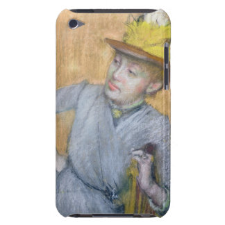 Coques Barely There iPod Femme assise par | d'Edgar Degas, 1887